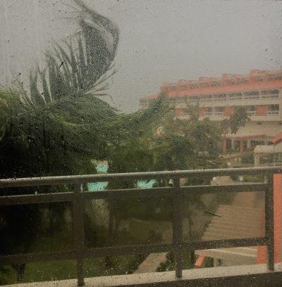 Hurricane Irma (Image: Jo Pegram-Mills)