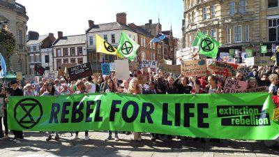 Climate Strike Northampton 20 September 2019 (Image: T. Larkum)