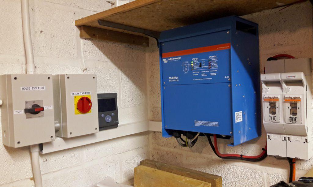 Victron MultiPlus Battery Inverter (Image: T. Larkum)