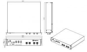 PowerBanx Battery (US2000B+) Dimensions (Image: PylonTech)