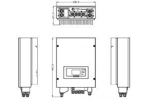 PowerBanx Inverter (ME3000SP) Dimensions (Image: Sofar)