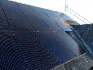 Panels being installed for Dr KS, St Albans (AL2), Herts.
