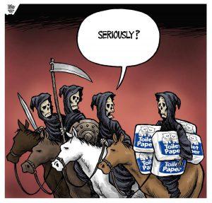 Four Horsemen (Image: Theo Moudakis/Toronto Star)