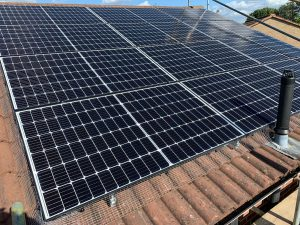 Solar panels installed for Mr TG in East Finchley, London (N2)