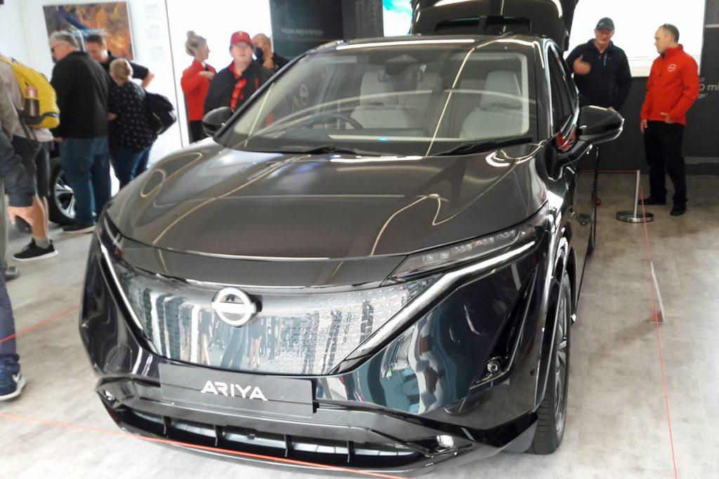 Nissan Ariya EV (Image: TL/Tanjent)